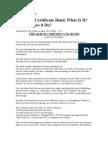 Birth Certificate Bond