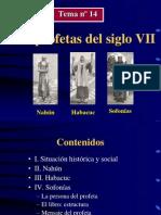 Sofonias, Nahum y Habacuc