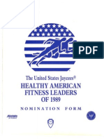 Healthy American Fitness Leaders