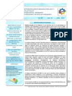 Boletin Epidemiologico 08-2011