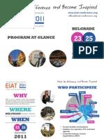 EIAT2011_Program at Glance