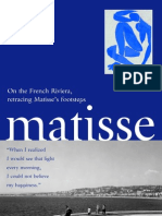 Henri Matisse – Walking in his footsteps …