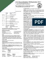 Bulletin 180911
