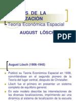Teoría Económica Espacial - August Lösch