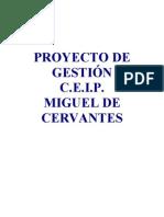 PROYECTO DE GESTIÓN