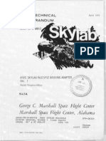 MSFC Skylab Multiple Docking Adapter, Volume 1