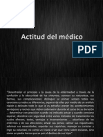 Actitud Del Medico
