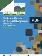 Cochrane Canada 9 Symposium Program 8-Feb-2011 (1)
