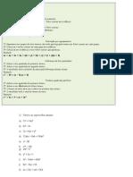 Fatoração e simplificação de frações algébricas