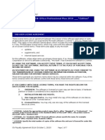 Microsoft Office Pro Plus 2010