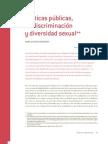 Políticas públicas, no discriminación y diversidad sexual / Mario Alfredo Hernández