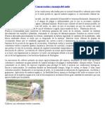 Conservación y manejo del suelo