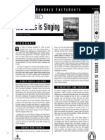 The Grass s Singing by Doris Lessing - Penguin Readers Factsheet - 0582417899