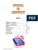 Apuntes de gramática