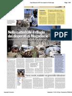 Reportage. Mogadiscio, il genocidio silenzioso. Mogadishu, the silent genocide