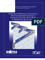Pm for Steel Framing