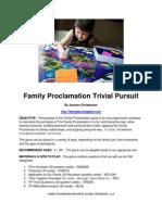 Family Proclamation Game by Jocelyn Christensen