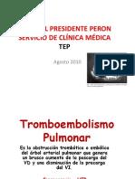 TROMBOEMBOLISMO DE PULMON