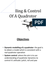 Modelling & Control of a Quadrotor