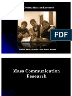 Mass Communication Researchcompleto