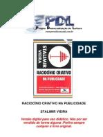 LIVRO - Vieira Stalimir - Raciocínio Criativo Na Publicidade