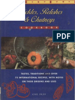 Pickles Chutneys and Relishes Cookbook