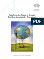 Redefining the  Future of Growth The New Sustainability Champions