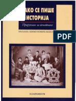 Biljana Simunovic Beslin - Kako se pise istorija - prirucnik za pocetnike.pdf
