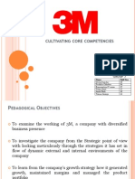 3M Cultivating Core Competencies