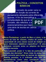 CIÊNCIA POLÍTICA CONCEITOS BÁSICOS