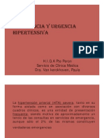 cia y Urgencia Hipertensiva