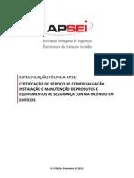 Especificacao Tecnica APSEI 4ed