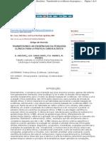 (2001 - Review) Transfer in Do Evidencias Clinicas Para Clinica Cardiologia