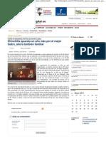 2011-05-14 El digital - Chinchilla apuesta un año más por el mejor teatro, ahora también familiar — eldiadigital