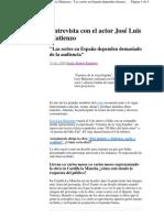 2009-12-17 Siute100 Entrevista Con El Actor
