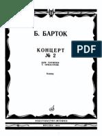 Bartok Concerto 2