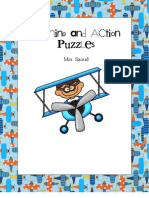 Naming Action Puzzles
