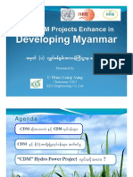 How CDM Project Enhancing in Developing Myanmar