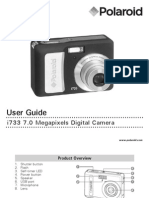 Polaroid i733 Camera User Manual