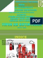tipos de extintoress
