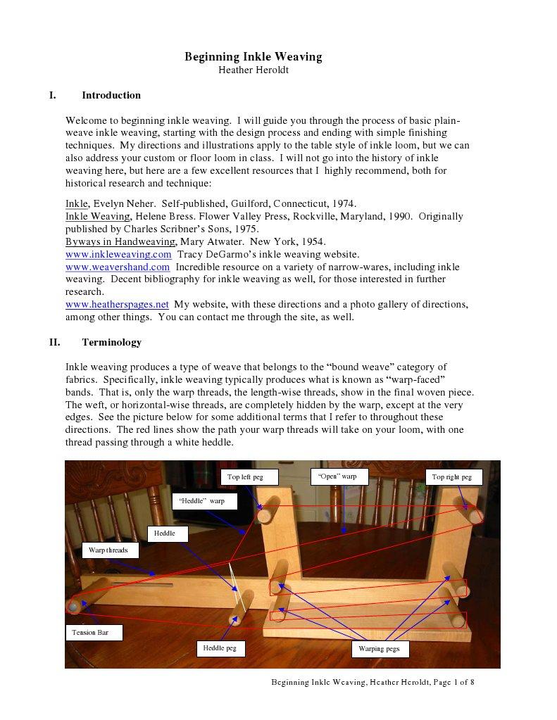 Beginning Inkle Weaving | Weaving | Loom