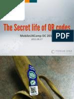 2011-09-17 Secret Life of QR Codes (MobileUXcamp DC)