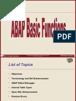 3 ABAP 4 6 Basic Functions