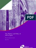 De LA IGLESIA CARUNCHO-The Politics and POlicy of Aid in Spain
