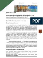 Transicion Del Feudalismo Al Capitalismo Epub Download