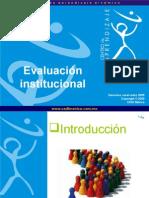 Taller Evaluacion Institucional