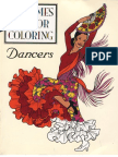 (Kids Coloring) Dancers Coloring Book-costumes for Coloring-By Pddef