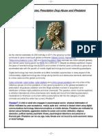 Online Pharmacies, Prescription Drug Abuse & iPredators