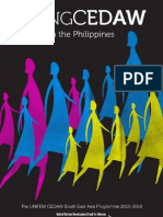 Going CEDAW in the Philippines