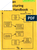 Lean Manufacturing Pocket Hand Book